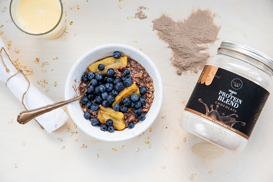 Recipe for protein porridge