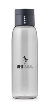 #Fitmama DOT Water Bottle, Grey