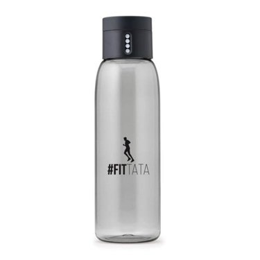 #Fittata DOT Water Bottle, Grey