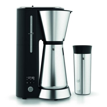 A coffee maker and a thermal mug HPBA
