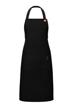 Apron With A Pocket, Black