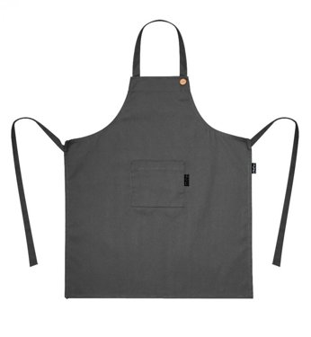 Apron With A Pocket, Grey