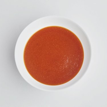 Carrots & Tomato cream soup
