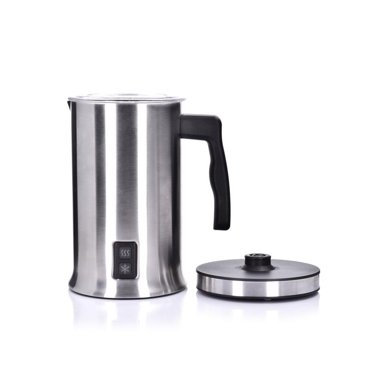DUKA BOJE electric milk frother silver stainless steel