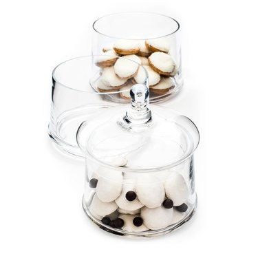 DUKA CANDY glass candy jar 50 cm glass