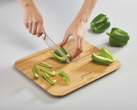 Small Folding Bamboo Cutting Board, HPBA