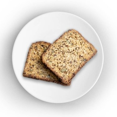 Gluten-free whole grain bread with chia seeds