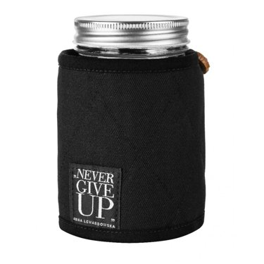 Jar For Cold Drinks In A Case, Black