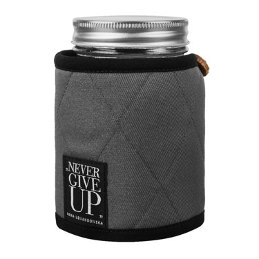 Jar For Cold Drinks In A Case, Grey