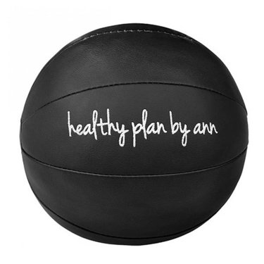 Medicine Ball, 4 kg, Black