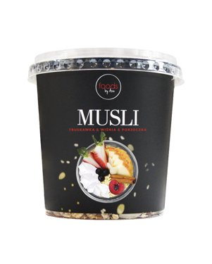 Muesli Strawberry & Cherry & Blackcurrant