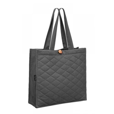 Quilted Bag, Grey
