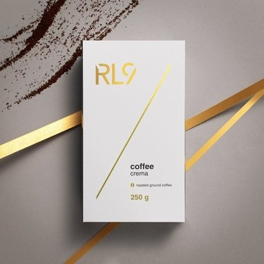 RL9 Coffee Crema roasted ground coffee