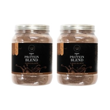 Set 2 x Vegan Protein Blend chocolate