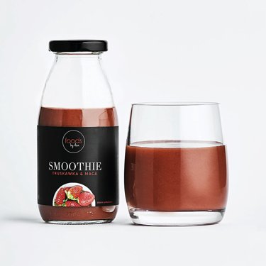 Strawberry & Maca Smoothie in a bottle, 250 ml