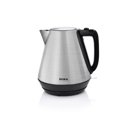 DUKA BOSSE electric kettle 1700 ml silver stainless steel