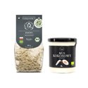 Set of Organic Gluten-Free Rice Pasta Gemelli and Organic Coconut Paste