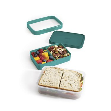 Lunch box GoEat, niebieski