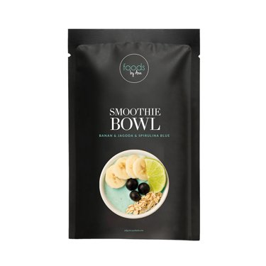 Smoothie Bowl Banan & Jagoda & Spirulina blue